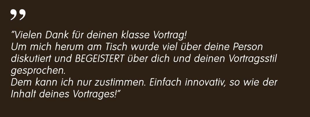 Altena Krefeld Markus Reimer Keynote Speaker Redner Referent Vortrag Innovation Qualität Wissen Agilität