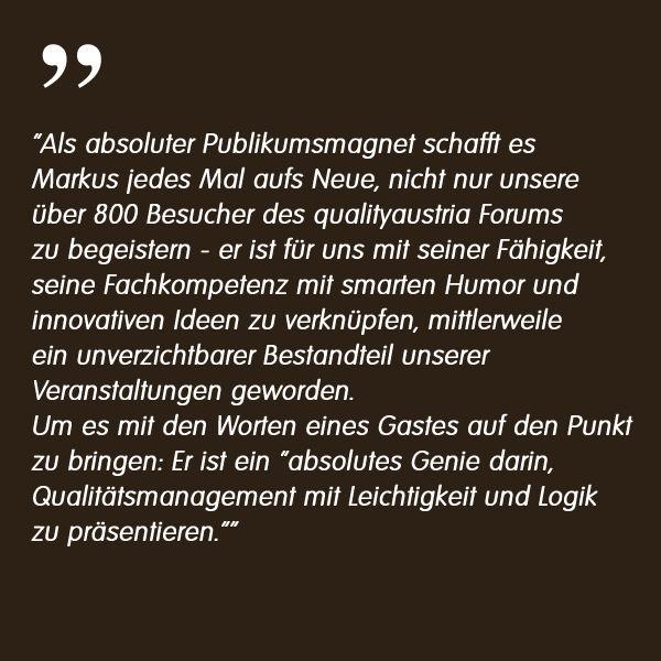 M. Scheiber, Head of Marketing, Feedback zu Dr. Markus Reimer Keynote Speaker / Redner /Referent - Ihr Vortrag zu Innovation. Agilität. Qualität. Wissen.