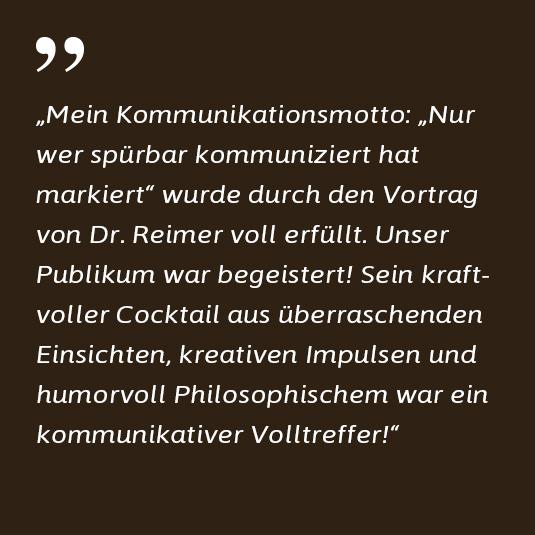 Dr. Haag voestalpine - Referenz zu Dr. Markus Reimer - Keynote Speaker / Redner /Referent - Ihr Vortrag zu Innovation. Agilität. Qualität. Wissen.