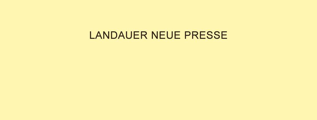 Landauer Neue Presse über- Markus Reimer - Keynote Speaker Innovation Agilität Wissen Qualität Philosophie