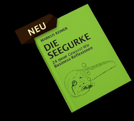 Die Seegurke - das neue Buch