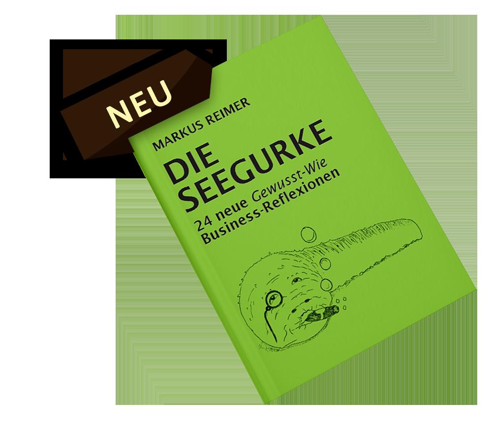 Die Seegurke - das neue Buch Qualität Nachhaltigkeit Innovation